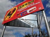 Bivolul rosu pe strazile din Brasov - Billboard Banner Battery