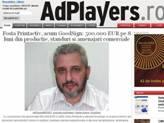 AdPlayers: Fosta Printactiv, acum GoodSign: 500.000 EUR pe 8 luni din productie, standuri si amenajari comerciale