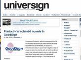 Universign: Printactiv își schimbă numele în GoodSign